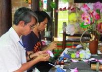 Làng hoa giấy Thanh Tiên - Huế